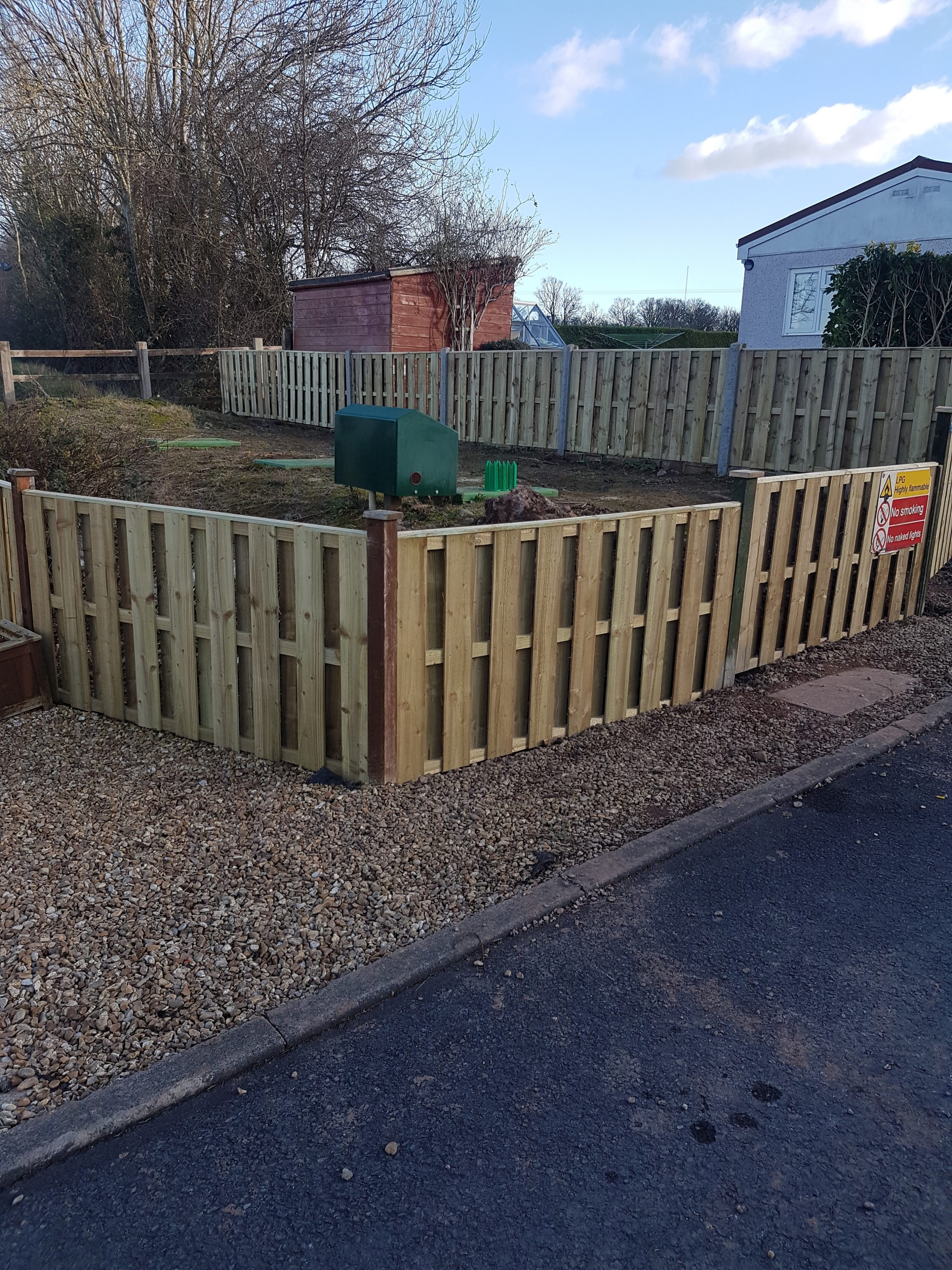 Low Fence Installation 2