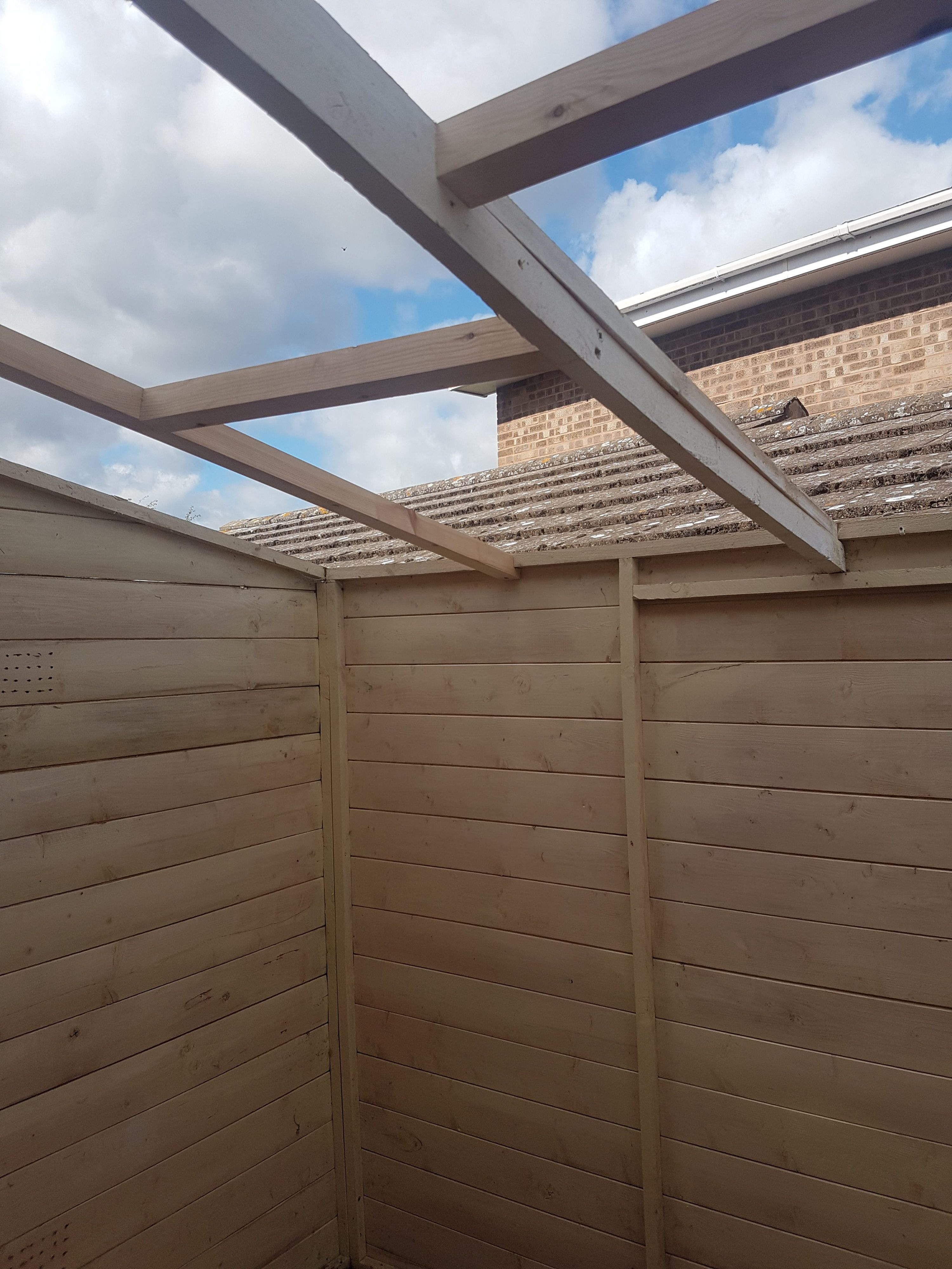 Shed Installation 2
